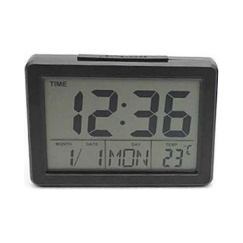 Voice Control Back-Light LCD Clock DS-8082