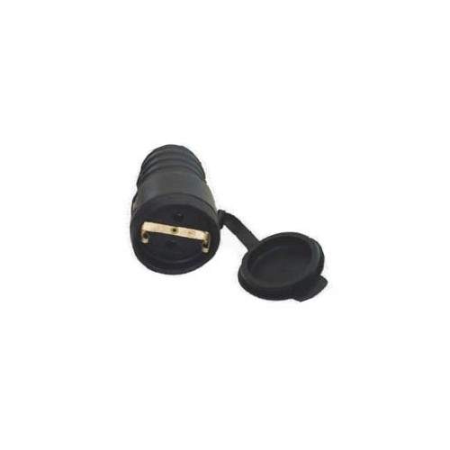 FEMALE SCHUKO ELECTRICAL CURRENT PLUG YC-DA-14 RUBBER HGI