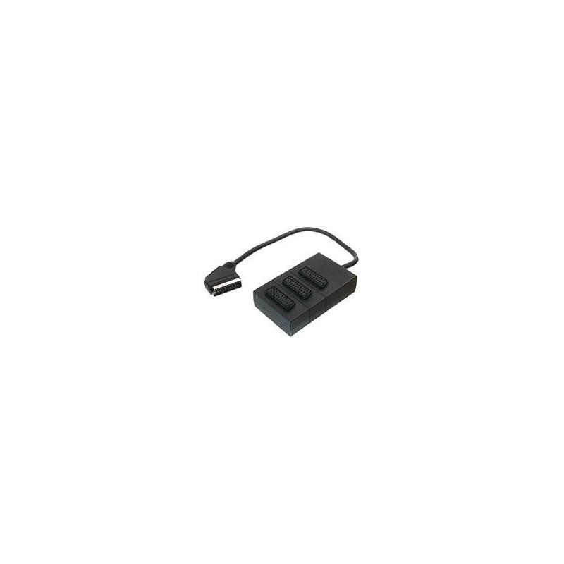 ΔΙΑΚΛΑΔΩΤΗΣ SCART BOX 3 IN 1