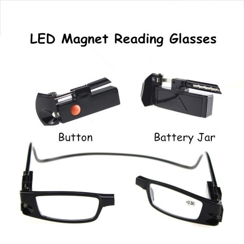 LED MAGNETIC GLASSES