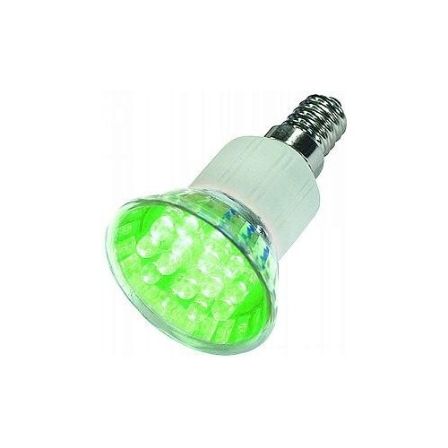 LED LAMP E14 GREEN