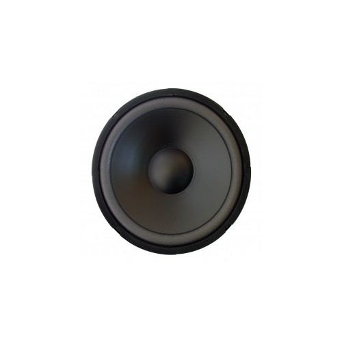 "High-cut Wave Paper Cone Series Woofer Megaphone with Black Foam Edge 10"", 8Ω, 250W."