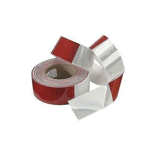 Reflex car sticker, Reflect Tape 48mm red