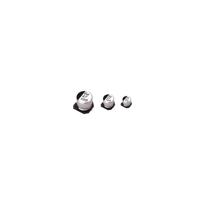 ΠΥΚΝΩΤΗΣ ΗΛΕΚΤΡΟΛΥΤΙΚΟΣ SMD 220μF/16V 105°C 10X10