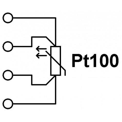 THERMOMETER SENSOR PT100 Φ6.4 100mm