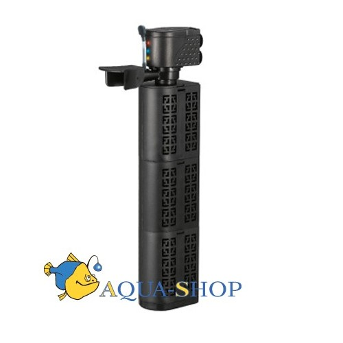 Xilongchi Aquarium fish tank filter oxygenation dual-use submersible pump three in one internal filter water Purifier 1800 l/h
