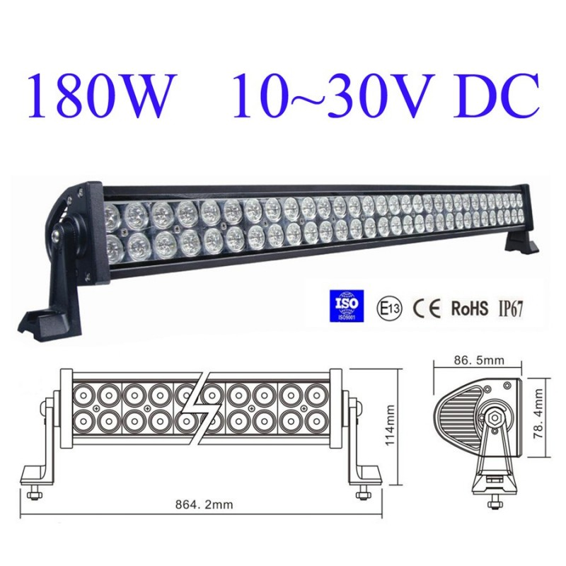 180w LED WORK LIGHT BAR LED BAR