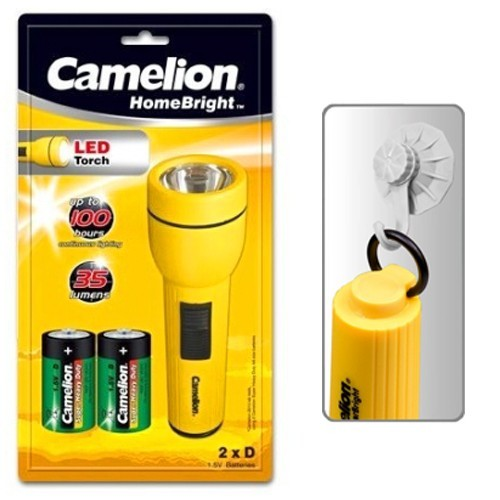 Camelion   Products   Mobile Lights   Torches   SuperBright™ 1 LED (2D) Classic 1 LED Flashlight / FL1L2D FL1L2D2R20P