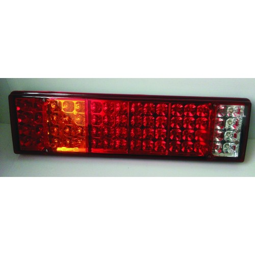 24V 64 LED Rear Tail Combination Lights Lamp Truck Trailer Bus Chassis Camper