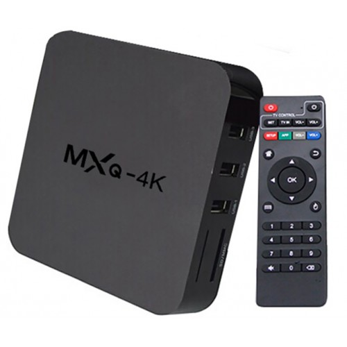 MXQ 4K - OTT TV BOX
