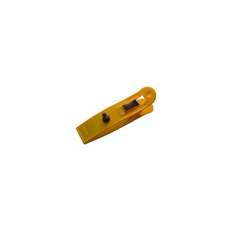 ECG clip electrode