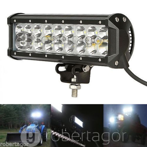 "9"" inch 54W LED LIGHT BAR Spot FLOOD FOR OFF ROAD LED BAR IP67 4WD ATV UTV SUV"